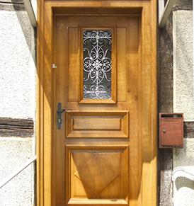 Porte d'entrée & Garage